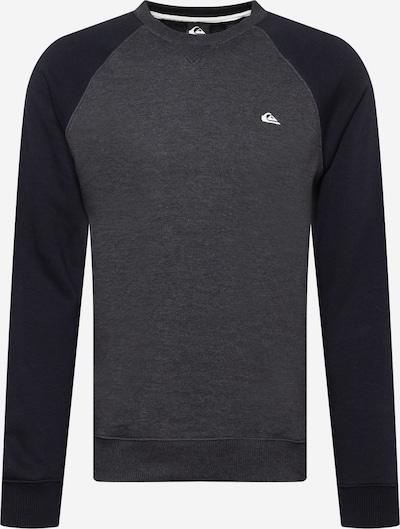 QUIKSILVER Sweatshirt 'EVERYDAY' in Dark grey / mottled grey / White, Item view