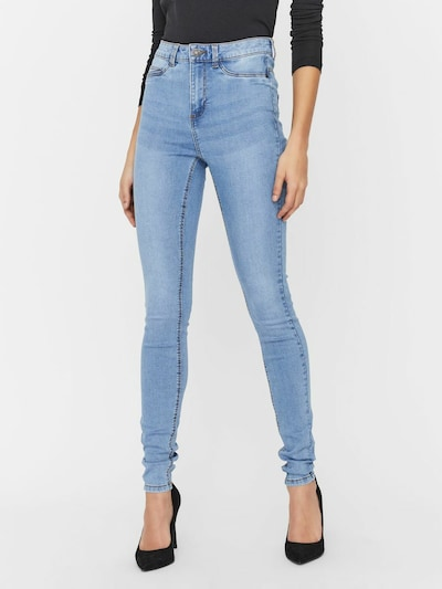 Noisy may Jeans 'Callie' in blue denim: Frontalansicht