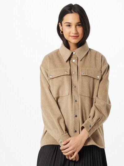 Camicia da donna 'Reeta' MOSS COPENHAGEN di colore beige scuro, Visualizzazione modelli