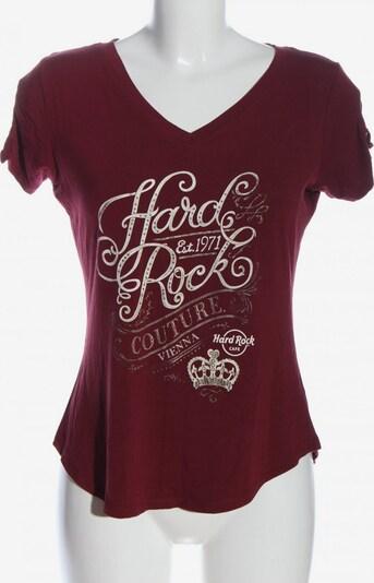 Hard Rock Cafe T-Shirt in S in rot / weiß, Produktansicht