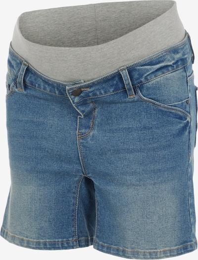 MAMALICIOUS Pantalon en bleu / gris, Vue avec produit