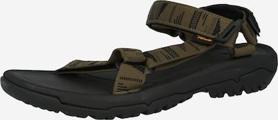 Sandalo TEVA di colore oliva / verde scuro, Visualizzazione prodotti