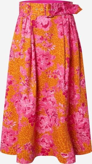 Ted Baker Sukně 'Jenday' - tmavě žlutá / pink, Produkt