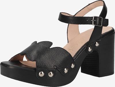 Wonders Sandalen in schwarz, Produktansicht
