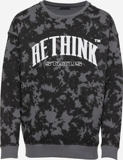 Rethink Status Sweatshirt in Dark grey / Black / White, Item view