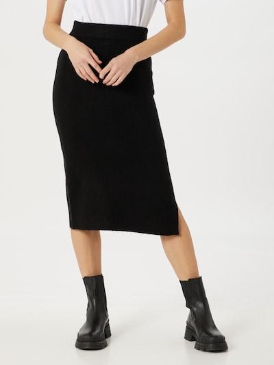ONLY Rok 'Cille' in de kleur Zwart, Modelweergave