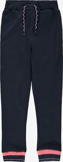 NAME IT Pantalon en bleu foncé / rose, Vue avec produit
