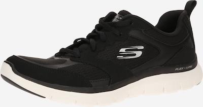 fekete / fehér SKECHERS Rövid szárú edzőcipők 'FLEX APPEAL', Termék nézet