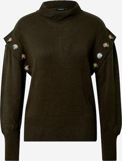 Megztinis iš Trendyol , spalva - rusvai žalia, Prekių apžvalga