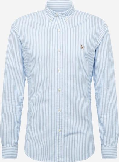 Camicia POLO RALPH LAUREN di colore blu chiaro / bianco, Visualizzazione prodotti