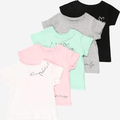River Island Shirt in graumeliert / mischfarben / rosa / schwarz / weiß, Produktansicht