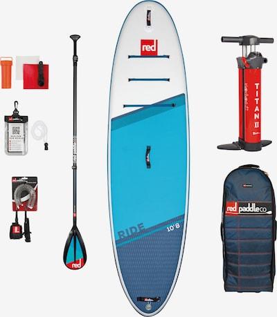 Red Paddle Set 'Ride' in blau / hellblau / rot / schwarz / weiß, Produktansicht