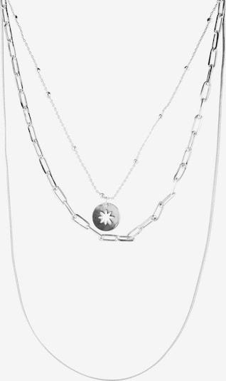 PIECES Ketju 'Linea' värissä hopea, Tuotenäkymä
