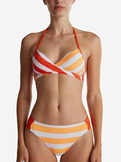 ESPRIT Bikinitop in orange / rot, Modelansicht