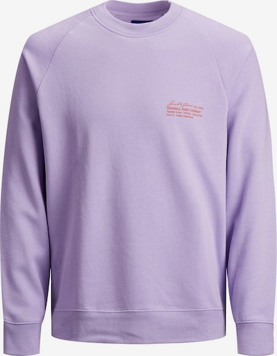 JACK & JONES Sweatshirt in lila / helllila, Produktansicht