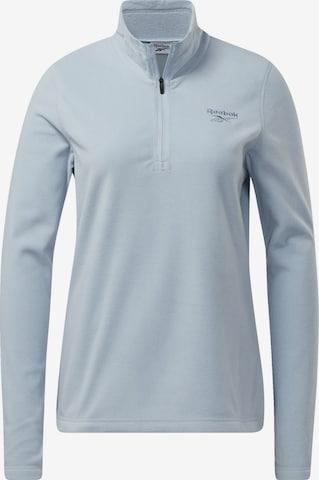 Reebok Sport Fleece Jacket in Blue