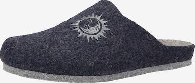 COSMOS COMFORT Pantoufle en bleu, Vue avec produit