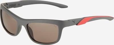 PUMA Gafas de sol en gris / rojo, Vista del producto