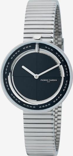 PIERRE CARDIN Uhr in nachtblau / silber, Produktansicht
