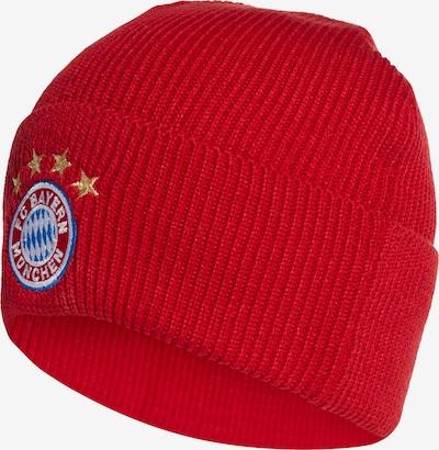 ADIDAS PERFORMANCE Mütze 'Bayern München' in blau / gold / rot / weiß, Produktansicht