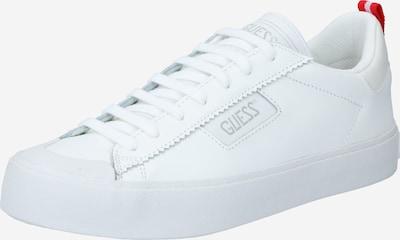 GUESS Sneaker 'MIMA' in feuerrot / silber / weiß, Produktansicht