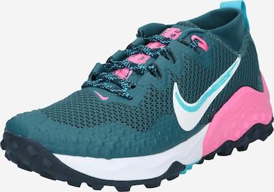 Sneaker de alergat 'Wildhorse 7' NIKE pe verde petrol / roz / alb, Vizualizare produs