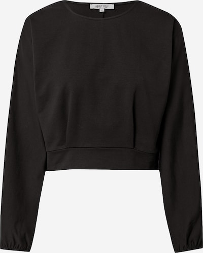 ABOUT YOU Sweatshirt 'Linda' in de kleur Zwart, Productweergave