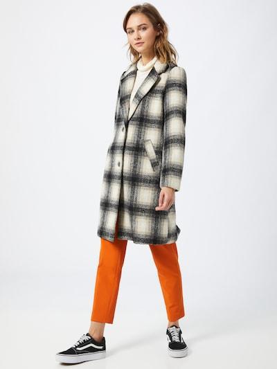 ONLY Prechodný kabát - béžová / sivá, Model/-ka