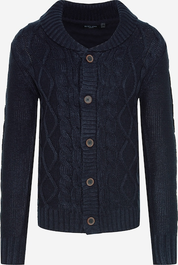 BRAVE SOUL Knit cardigan 'TRACTATUSA' in navy, Item view