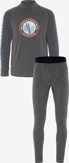 Îmbrăcaminte sport 'POWDERHORN' CHIEMSEE pe albastru deschis / gri închis / culori mixte, Vizualizare produs