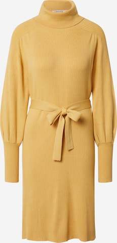 EDITED Knit dress 'Malene' in Yellow