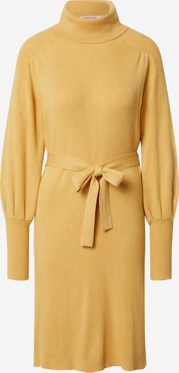 EDITED Robes en maille 'Malene' en jaune, Vue avec produit