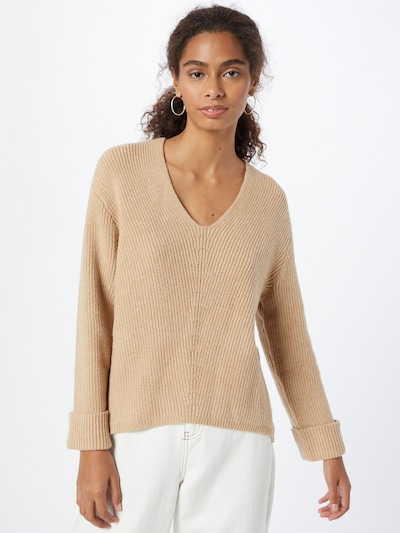 ABOUT YOU Sweater 'Tamara' in Camel, View model