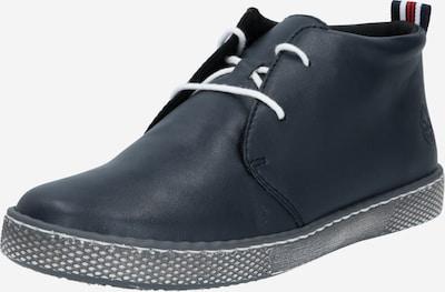 RIEKER Šněrovací kozačky - noční modrá, Produkt