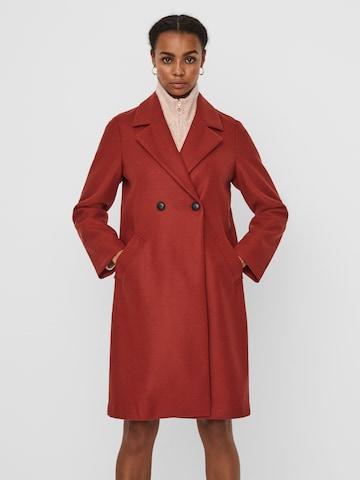 VERO MODA Płaszcz przejściowy 'Fortune Addie' w kolorze czerwony