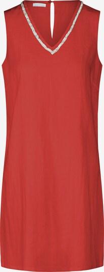 mint & mia Kleid mit Perlen ärmellos in rot, Produktansicht