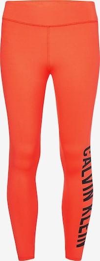 Calvin Klein Performance Pantalon de sport en orange / noir, Vue avec produit