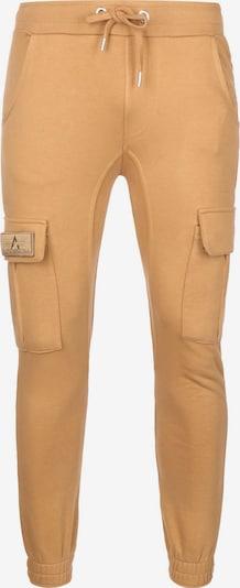 ALPHA INDUSTRIES Pantalon de sport ' Terry ' en ocre, Vue avec produit