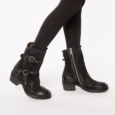 A.S.98 Boots in schwarz: Frontalansicht