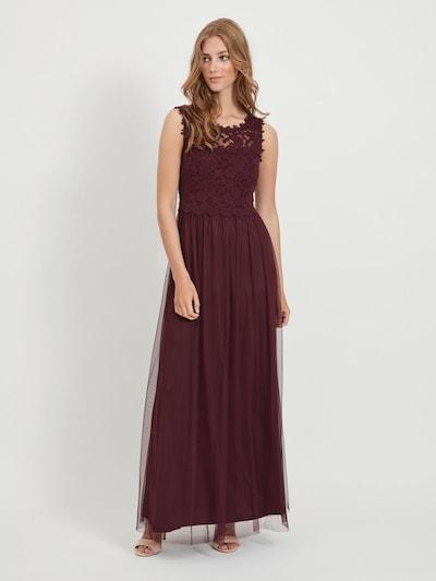 VILA Kleid in aubergine, Modelansicht
