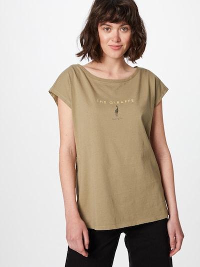 EDC BY ESPRIT Koszulka w kolorze khakim: Widok z przodu
