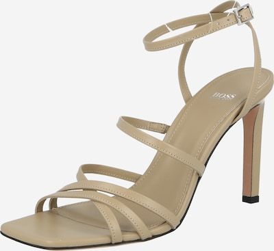 BOSS Casual Strap sandal in Light beige, Item view