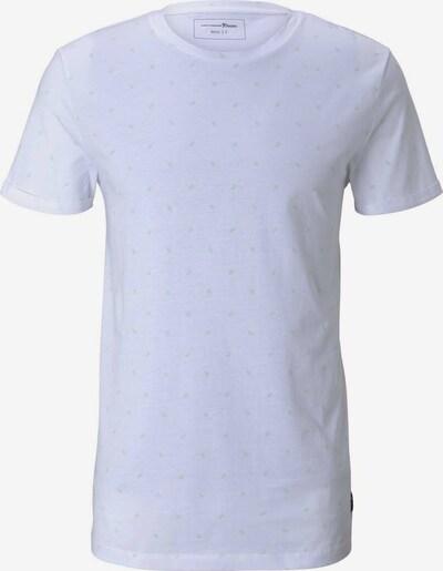 TOM TAILOR DENIM Tričko - sivá / biela, Produkt
