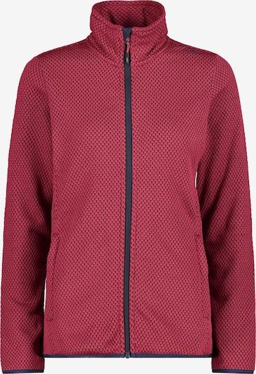 CMP Athletic Fleece Jacket in Raspberry / Black, Item view