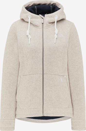 Jachetă  fleece ICEBOUND pe fildeş, Vizualizare produs