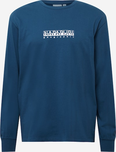 NAPAPIJRI Tričko - nebesky modrá / biela, Produkt