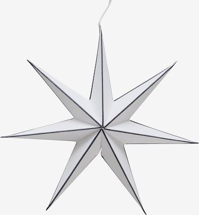 BOLTZE Dekoanhänger 'Favola Stern' in nachtblau / weiß, Produktansicht