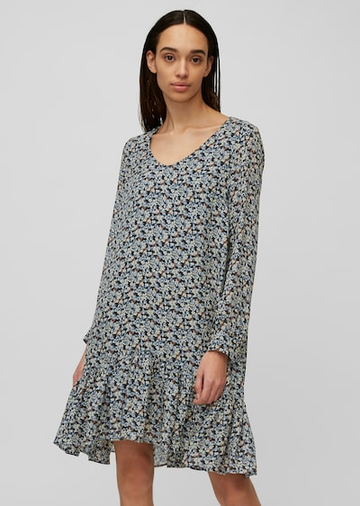 Marc O'Polo Kleid in nachtblau / mischfarben, Modelansicht