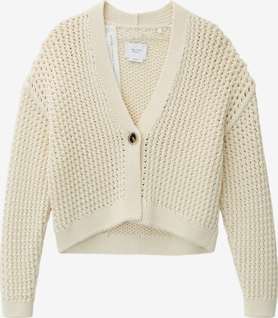 Marc O'Polo Pure Strickjacke in creme, Produktansicht