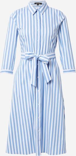 Rochie tip bluză MORE & MORE pe albastru fumuriu / alb, Vizualizare produs